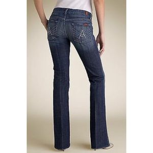 """7 for All Mankind """"A"""" Pocket Mid Rise Denim"""